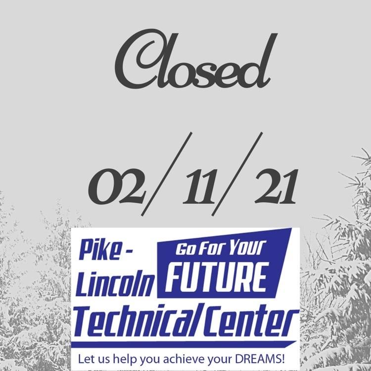 pltc closed 2/11/21 with snowy background