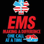 EMS Making a difference one call at a time with EMS logo